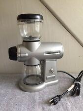 Kitchenaid Pro Line Coffee Burr Grinder Contour Silver