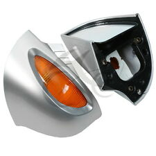 Rear View Mirrors Turn Signal Light Fit For BMW R1100 RT R1100 RTP R1150 RT TCMT
