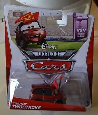 Disney Pixar Cars 2014 diecast TIMOTHY TWOSTROKE #7/8- RSN Series NEW