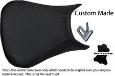 Gris Stitch 99-02 Custom Fits Yamaha 600 Yzf R6 real de piel cubierta de asiento