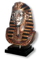 Egyptian King TUTANKHAMUN Bust Statue Egytian Home Decor Art Office Statue