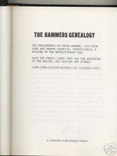 *Hammers Genealogy Peter Hammer Revolutionary War