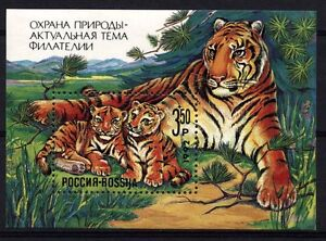 10203 RUSSIA 1992 Nature conservation S/S **MNH