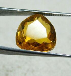 NATURAL UNTREATED 8.25 Cts YELLOW SAPPHIRE PEAR CUT LOOSE GEMSTONES JS1395