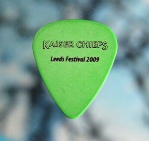 Kaiser Chiefs // Leeds Festival 2009 Concert Tour Guitar Pick / English Rock
