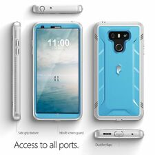 LG G6 Poetic Case [Revolution] Rugged Shockproof Cover Built-In Screen Protector