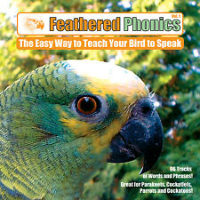 Feathered Phonics #1 CD: Teach & Train Your Parrot to Speak! - FREE SHIPPING