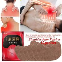 12 Patches Muscle Arthritis Aches Stiff Neck Joint Pain Relief Shoulder Knee