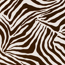 """ALEXANDER HENRY """"ZEBE"""" HOME DECOR Brown Natural by the 1/2 yard"""