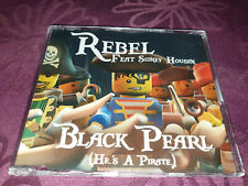 Rebel feat Sidney Housen / Black Pearl - He's a Pirate - Maxi CD