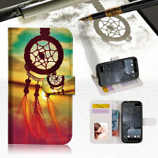 Dream Catcher Wallet TPU Case Cover For HTC ONE X9 -- A008
