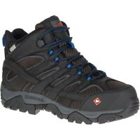 Merrell Men Moab 2 Vent Mid Waterproof Comp Toe Work Boot Wide Width
