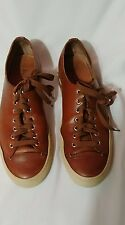 Buttero Sneakers handmade Brown Leather sneakers - Size 42.5