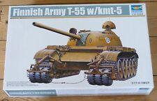 TRUMPETER échelle 1/35 Finlandais T-55 avec KMT-5 Tank Kit