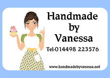21 PERSONALISED GLOSS LABELS/STICKERS TO ADVERTISE YOUR CRAFT OR BUSINESS