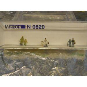 ** Merten N 0820 Figure Pack Tourists 6 1:160 N Scale