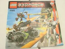 LEGO INSTRUCTION BOOK Lego Exoforce #7705