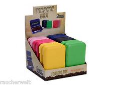 Zigarettendose Tabakdose Etui Box Dose - Sonderpreis - Modell Color vier Farben