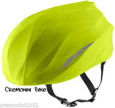 GIANT copricasco giallo yellow helmet cover winter PROSHIELD impermeabile bici