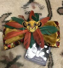 NOEUD INTERCHANGEABLE CLIP SYB ROI LION Disneyland Paris