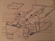 Ferrari 308 gts/gtb battery cover part #60279809