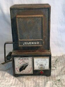 Vintage JELRUS Technical JELENKO Dentist Jewelry Craft BURN OUT OVEN Kiln 2000*F