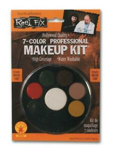 Rubies Reel F/X 7 Color Makeup Palette Kit Halloween Costume 68750 FAST SHIP B33