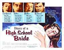 Diary Of High School Bride Poster 02 Metal Sign A4 12x8 Aluminium