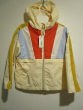 NWT Gymboree Girls Size 5 - 6 Colorblock Hooded Lined Jacket Coat r $44.50