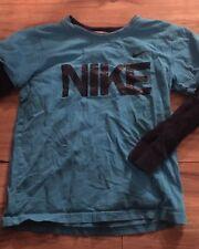 Nike Boys Long Sleeve T Shirt Size 6 Blue