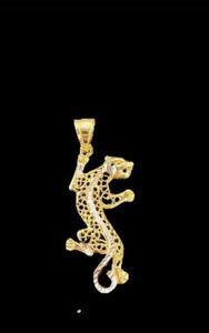 Panther Anhänger 585 Gold