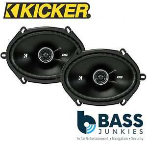 "KICKER DSC69304 6"" x 9"" 720 Watts a Pair Car Van Truck Door Coaxial Speakers"