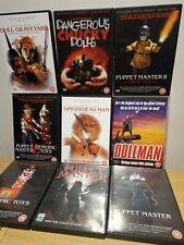 Demonic Dolls & Puppet Master Terror Toy Box & Dangerous Chucky Dolls DVD