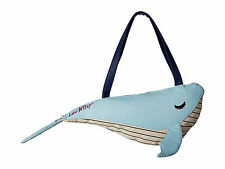 """BETSEY JOHNSON WHALE BAG FUDGY KITSCH COOLER LARGE 17"""" NEW WITH TAG AUTHENTIC"""