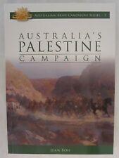 Australia's Palestine Campaign (Australian Army Campaign Series)