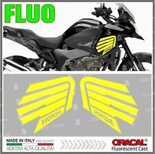 2x VFR 1200 X 2010 CROSSTOURER Yellow FLUO Honda Wings STICKERS ADESIVI PEGATINA