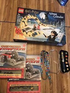 Lot 5 Items, 2020 LEGO Harry Potter Advent Calendar New, Lego Pen, Lego Projects