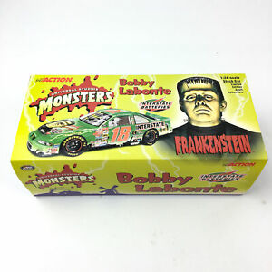 NASCAR Bobby Labonte #18 2000 Grand Prix Frankenstein 1:24 Car w/ Box