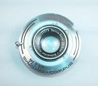 Schneider-Kreuznach Retina-Xenar 5cm f/3.5 Lens, 22mm Thread in Linhof Shutter