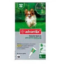 Advantix Spot On 0-4kg 4 pipetas 0,4ml para perros