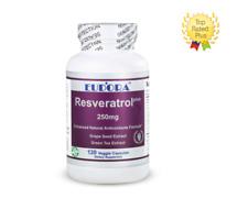 EUDORA Resveratrol Plus Grape Seed and Green Tea Extract Antioxidant 250 mg 120