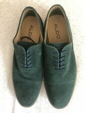 Aldo NEW Mens Suede Faux Leather Oxford Dress Shoes Size 9.5