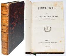 PORTUGAL, L'UNIVERS Histoire & Description de tous les peuples F. DENIS Gravures