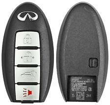 Infiniti Smart Key Case Shell Housing OEM Logo 4 Button 285E3-1CA7A Fob Repair