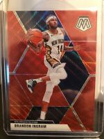 2019-20 Panini Mosaic Basketball Tmall Brandon Ingram Red Wave Prizm  #136