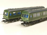 LIMA L149895A8 Metro Cammel Class 101  2-CAR DMU BR green with speed whiskers.