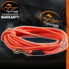 SportDOG SDT00-11746 Blaze Orange Check Cord 30 Feet Tangle-Free for Dogs & Pets