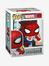 FUNKO POP! MARVEL #672 SPIDER-MAN WITH PIZZA BOX LUNCH EXCLUSIVE (PRE-ORDER) NEW