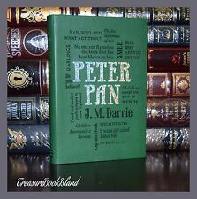 Peter Pan by J.M. Barrie Illustrated Unabridged Deluxe Soft Leather Feel Edition
