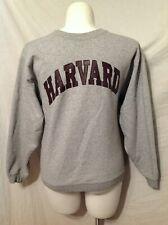 Harvard University Pullover Gray Sweatshirt Size Medium